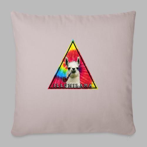 Illumilama logo T-shirt - Sofa pillowcase 17,3'' x 17,3'' (45 x 45 cm)