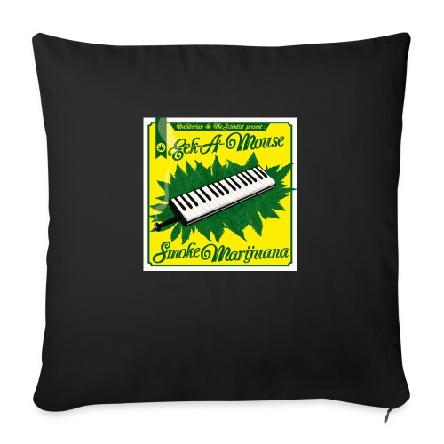 Smoke Marijuana - Sofa pillowcase 17,3'' x 17,3'' (45 x 45 cm)