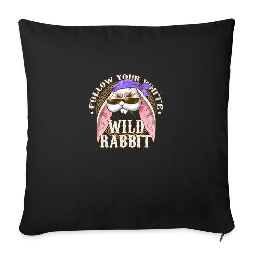 Wild Rabbit - Copricuscino per divano, 45 x 45 cm