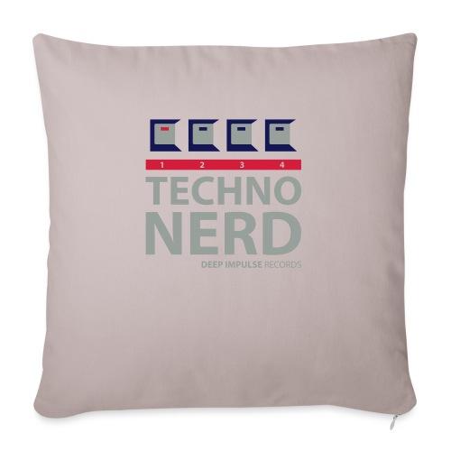 Techno Nerd - Sofa pillowcase 17,3'' x 17,3'' (45 x 45 cm)