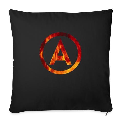 Fire T-shirt - Poszewka na poduszkę 45 x 45 cm