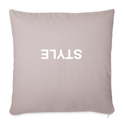 QUESTION STYLE - Sofa pillowcase 17,3'' x 17,3'' (45 x 45 cm)