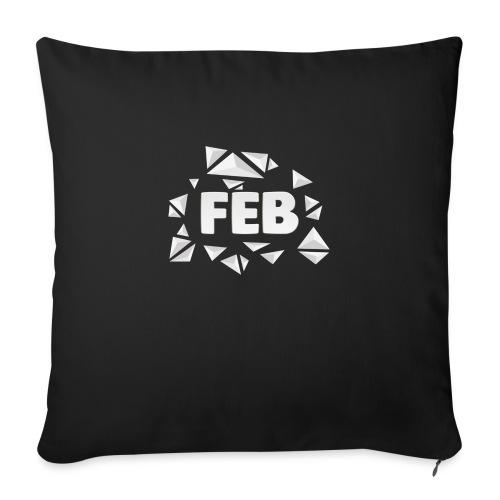 FebMerch - Sofa pillowcase 17,3'' x 17,3'' (45 x 45 cm)