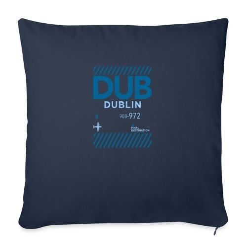 Dublin Ireland Travel - Sofa pillowcase 17,3'' x 17,3'' (45 x 45 cm)
