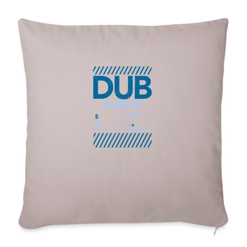 Dublin Ireland Travel - Sofa pillowcase 17,3'' x 17,3'' (45 x 45 cm)