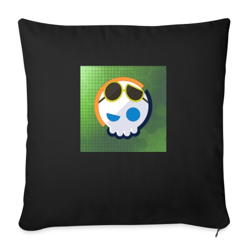 6961 2Clockstin skull - Sofa pillowcase 17,3'' x 17,3'' (45 x 45 cm)