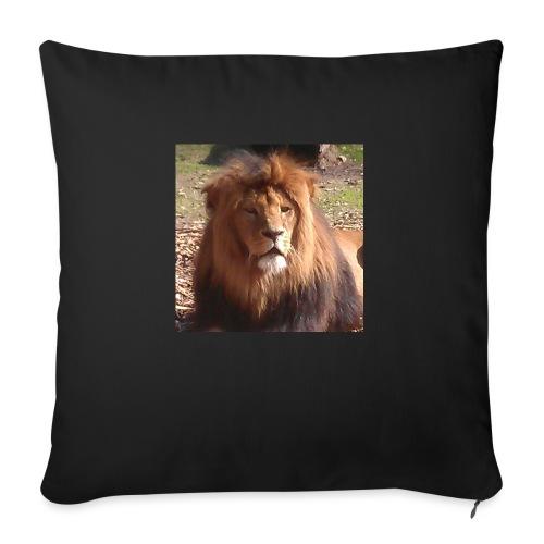 Lejon - Soffkuddsöverdrag, 45 x 45 cm