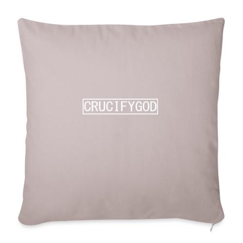 Crucify God   Logo - Sohvatyynyn päällinen 45 x 45 cm