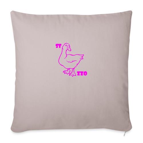 REBUS...STOCAZZO - Copricuscino per divano, 45 x 45 cm