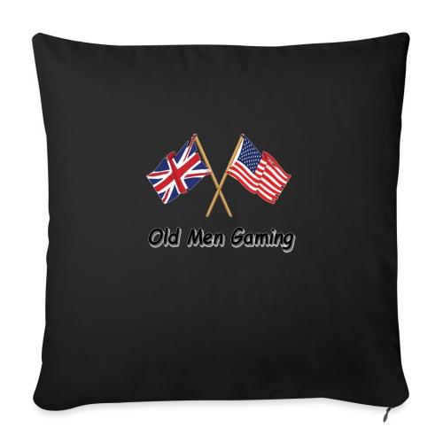 OMG logo - Sofa pillowcase 17,3'' x 17,3'' (45 x 45 cm)
