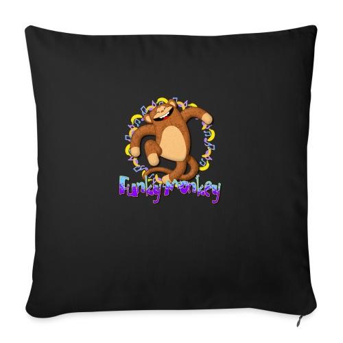 Funky Monkey - Copricuscino per divano, 45 x 45 cm