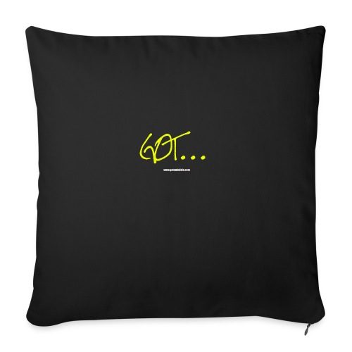 GOT LARGE LOGO - Sofa pillowcase 17,3'' x 17,3'' (45 x 45 cm)