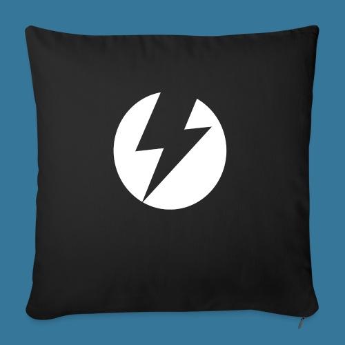 BlueSparks - White - Sofa pillowcase 17,3'' x 17,3'' (45 x 45 cm)
