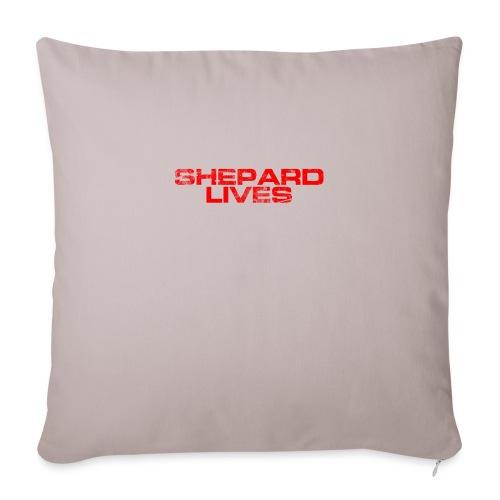Shepard lives - Sofa pillowcase 17,3'' x 17,3'' (45 x 45 cm)