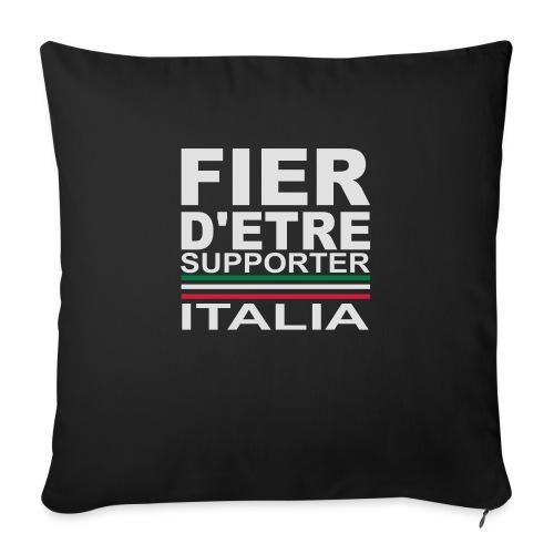 Fier d'être supporter Italia, Italie - Housse de coussin décorative 45x 45cm