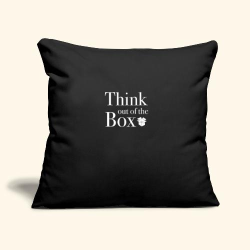 Designed MIndset Thinking Out Of The Box - Copricuscino per divano, 45 x 45 cm