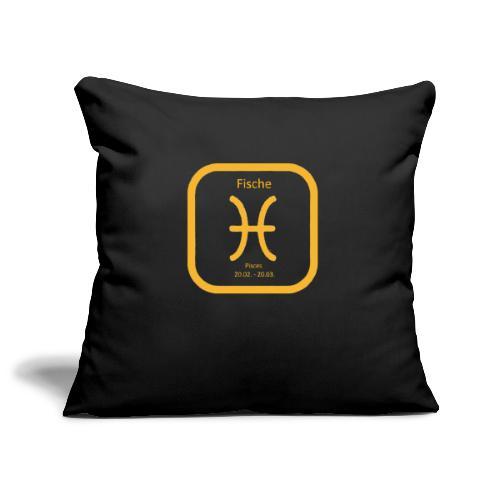 Horoskop fish12 - Poszewka na poduszkę 45 x 45 cm