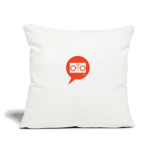 Hey, Dj play! - Copricuscino per divano, 45 x 45 cm