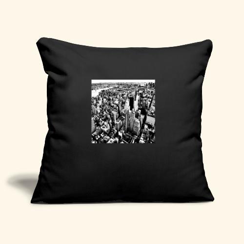 Manhattan in bianco e nero - Copricuscino per divano, 45 x 45 cm