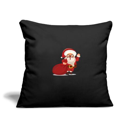 Christmas 02 - Housse de coussin décorative 45x 45cm