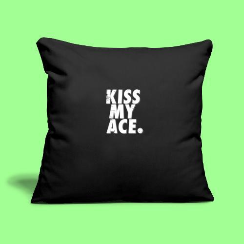 KISS MY ACE - Poszewka na poduszkę 45 x 45 cm