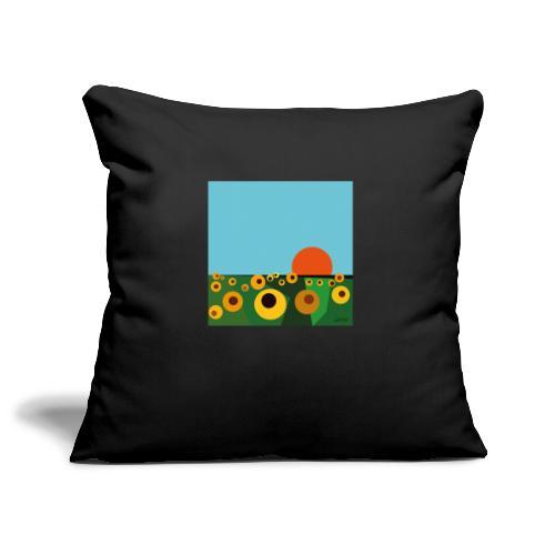 Sunflower - Sofa pillowcase 17,3'' x 17,3'' (45 x 45 cm)