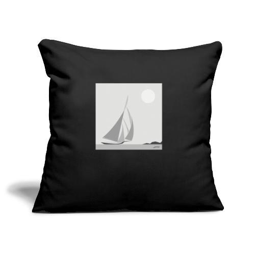 sailing ship - Sofa pillowcase 17,3'' x 17,3'' (45 x 45 cm)