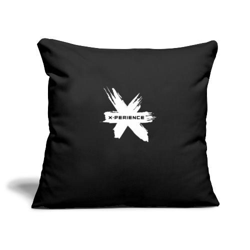 x-perience Logo weiß - Sofakissenbezug 44 x 44 cm