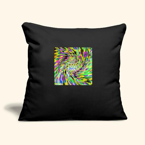 Vortice psichedelico - Copricuscino per divano, 45 x 45 cm