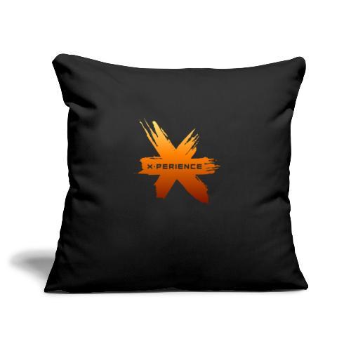X-Perience Orange Logo - Sofakissenbezug 44 x 44 cm