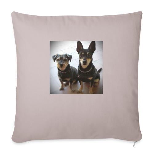 Cani - Copricuscino per divano, 45 x 45 cm
