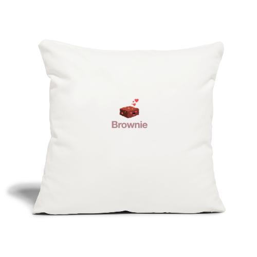 Brownie - Sofakissenbezug 44 x 44 cm