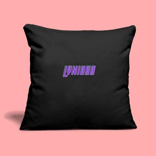 Lynioka Logo - Housse de coussin décorative 45x 45cm