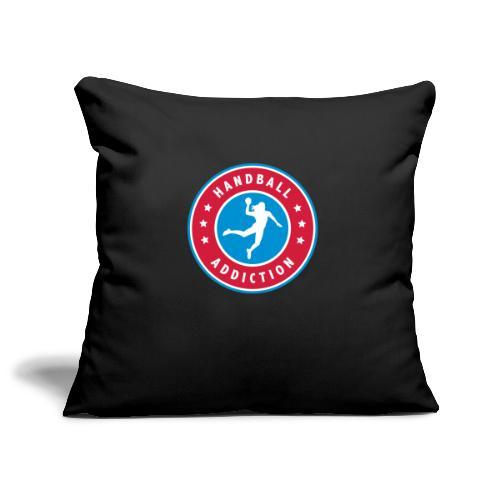 handball addiction femme - Housse de coussin décorative 45x 45cm