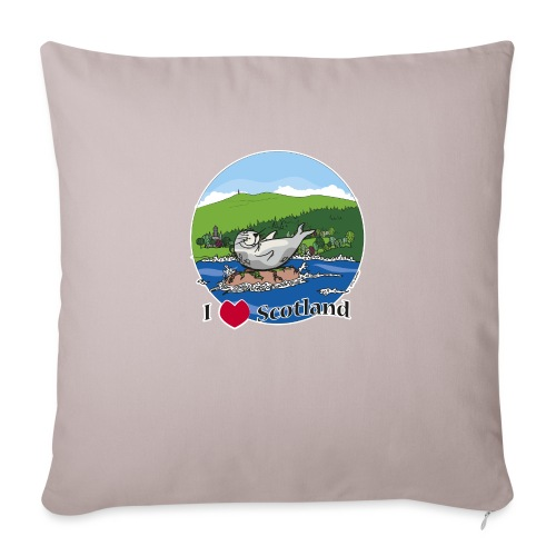I heart Scotland - Sutherland & Caithness - Sofa pillowcase 17,3'' x 17,3'' (45 x 45 cm)
