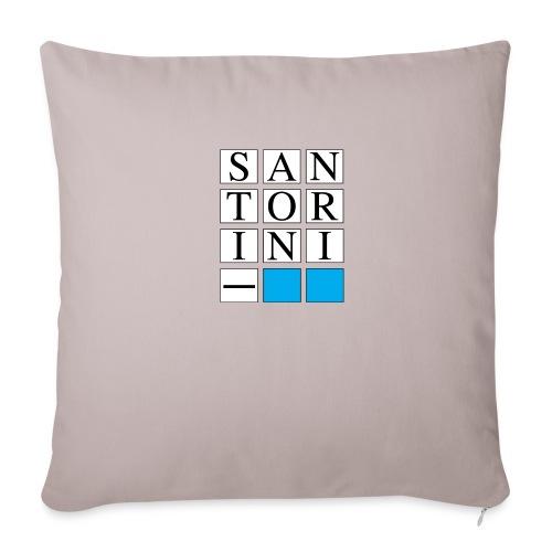 SANTORINI - Copricuscino per divano, 45 x 45 cm