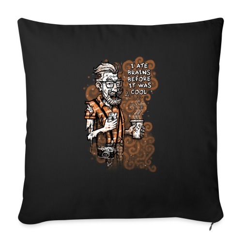 Zomb Hipster - Sofa pillowcase 17,3'' x 17,3'' (45 x 45 cm)