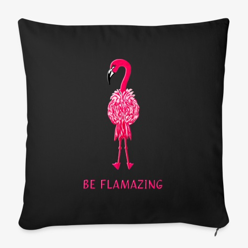 Flamingo - be flamazing! - Sofakissenbezug 44 x 44 cm