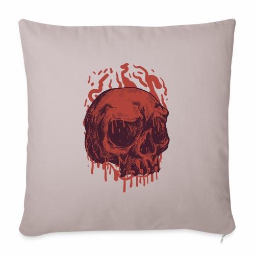 Bloody Skull - Sohvatyynyn päällinen 45 x 45 cm
