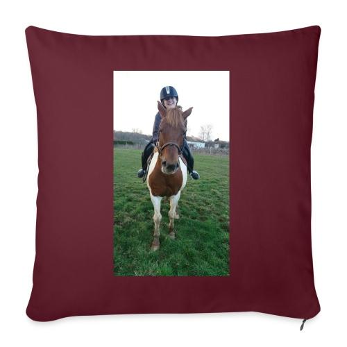 équitation - Housse de coussin décorative 45x 45cm