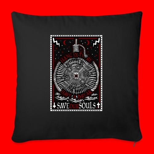 SaveOurSouls - Sofa pillowcase 17,3'' x 17,3'' (45 x 45 cm)
