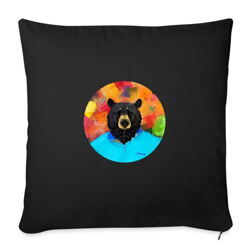 Bear Necessities - Sofa pillowcase 17,3'' x 17,3'' (45 x 45 cm)