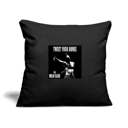 Twist Your Bones - Design 1 - Sofa pillowcase 17,3'' x 17,3'' (45 x 45 cm)