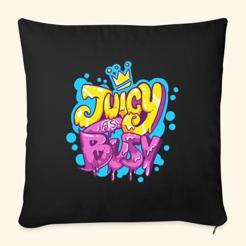 Juicy as Busy - Funda de cojín, 45 x 45 cm