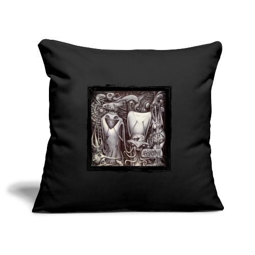 Abbinormal.....GrindCore Metal Band - Copricuscino per divano, 45 x 45 cm