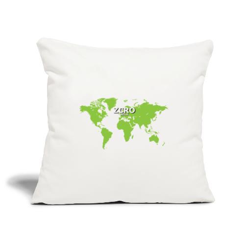 World Z€RO official - Sofa pillowcase 17,3'' x 17,3'' (45 x 45 cm)