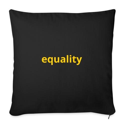 Equality - Funda de cojín, 45 x 45 cm