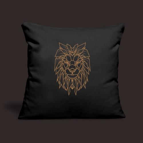 Löwe   Tier Katze Raubkatze Wildtier - Sofakissenbezug 44 x 44 cm