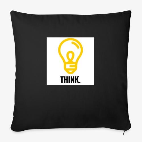 THINK - Copricuscino per divano, 45 x 45 cm