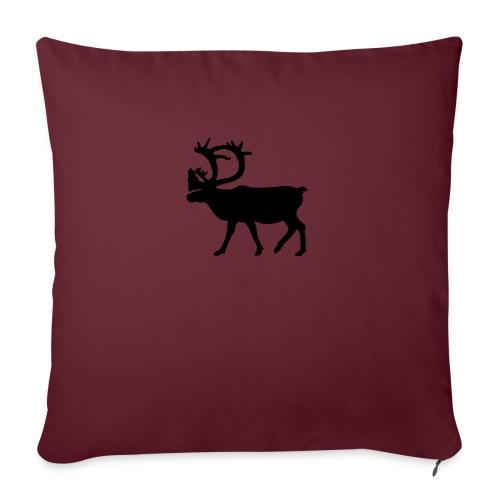 Le Caribou - Housse de coussin décorative 45x 45cm